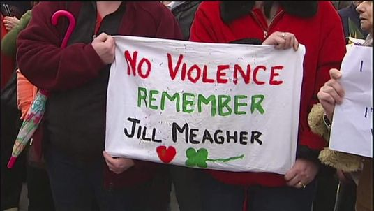 Melbourne residents rally for Jill Meagher