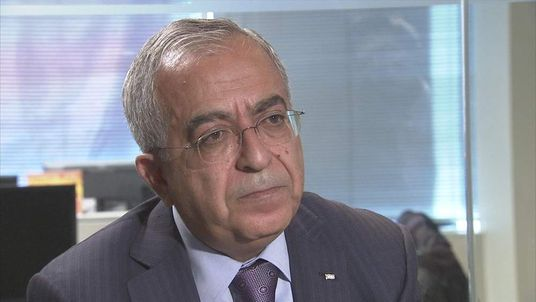 Salam Fayyad, Prime Minister, Palestinian Authority
