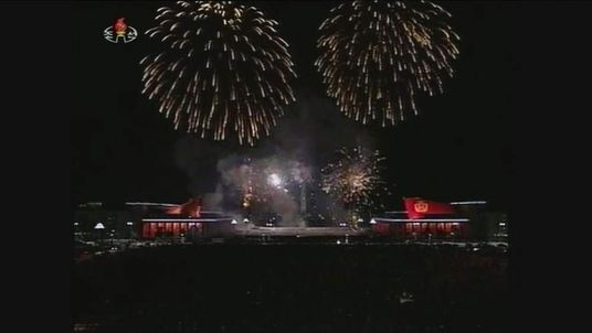 New Year celebrations in North Korea