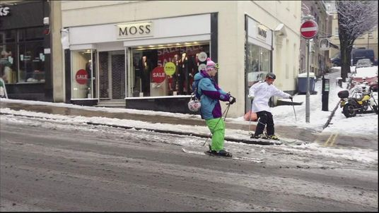 Skiing In Bristol