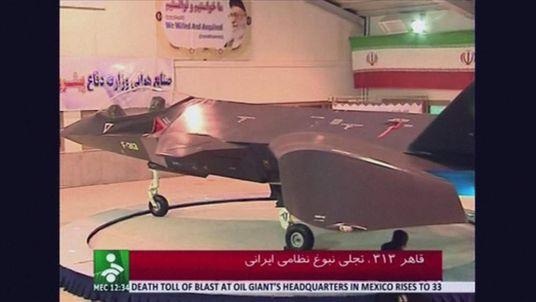 Iran stealth plane