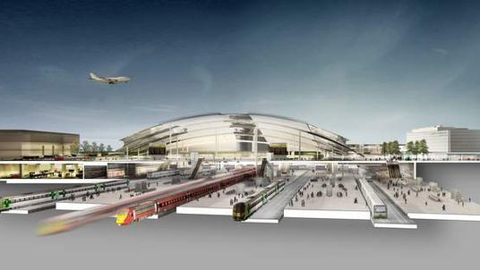 Gatwick Airport proposal for second runway 2014 and hub