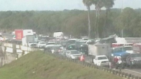 Pile-up in Florida