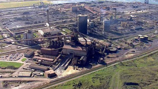 Former SSI Steelworks Redcar