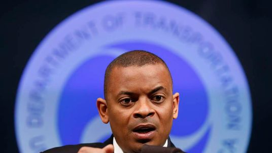 Secretary of Transportation Anthony Foxx announces that General Motors will be fined a record $35 million in civil penalties at the Department of Transportation in Washington