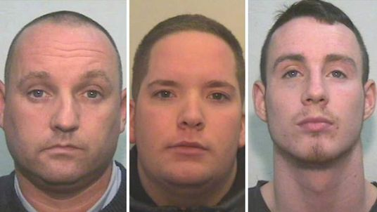 Kevin Pomeroy, James Chapman and Daniel Pomeroy have been sentenced
