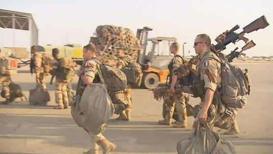 French troops arriving in Mali