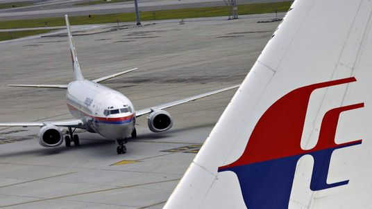 A Malaysia Airlines Boeing 737 aircraft