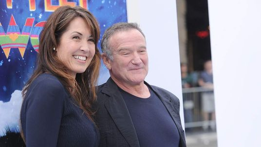 Robin Williams and wife Susan