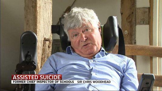Former Chief Inspector of Schools Sir Chris Woodhead
