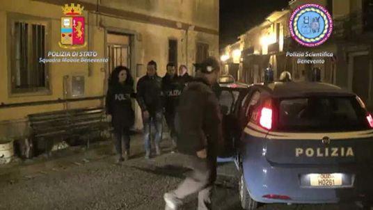 Italian police hold suspect
