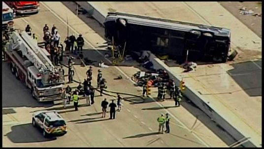 Bus Crash in Indianapolis