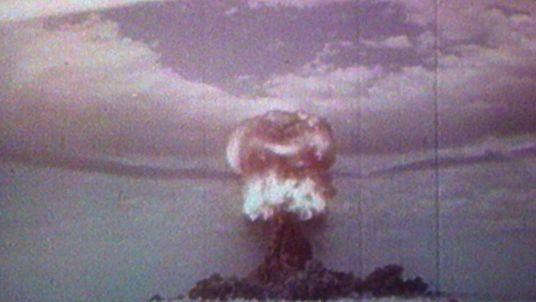 A nuclear test explosion from the 1960s