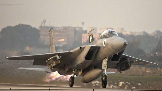 An Israeli jet