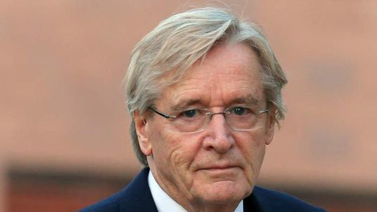 William Roache arrives at court