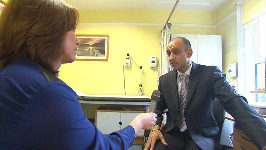 Kay Burley interviews Dr Ranjit Bahra