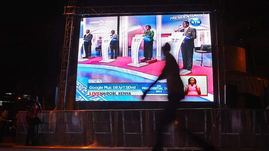 Presidential Debate Televised in Kenya