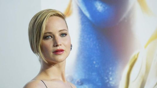 "Actress Jennifer Lawrence attends the ""X-Men: Days Of Future Past"" world premiere"