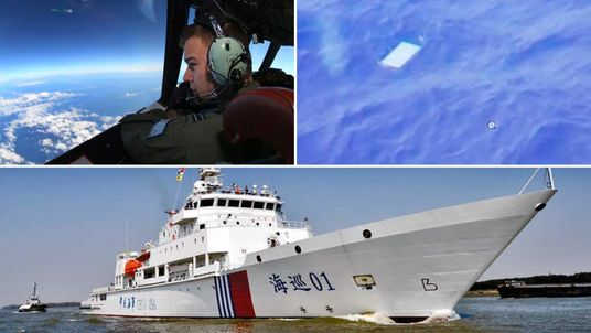 The search for missing Malaysia Airlines flight MH370