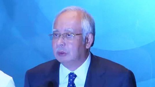 Malaysian PM.