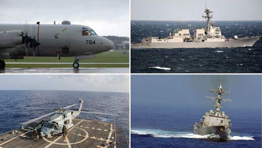 US Navy handouts