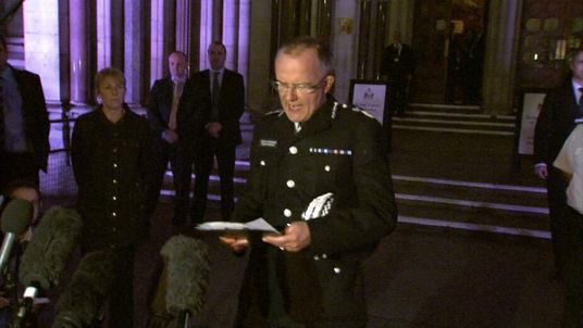 Metropolitan Police Assistant Commissioner Mark Rowley At High Court