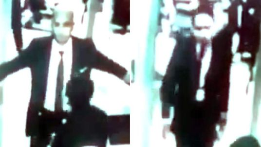Zaharie Ahmad Shah and Fariq Abdul Hamid seen walking through airport security