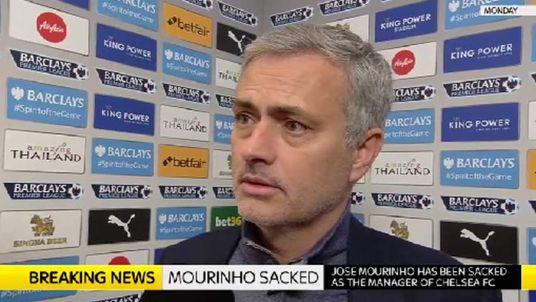 Former Chelsea manager Jose Mourinho