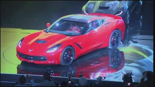 2014 Chevy Corvette 'stingray' at the Detroit Motor show