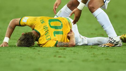 Neymar Injured In Brazil's World Cup Quarter-Final Win Over Colombia