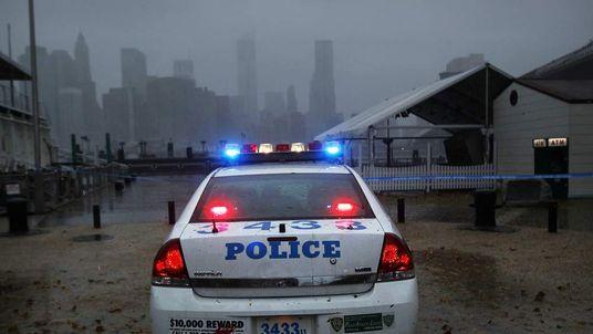 Police car in New York