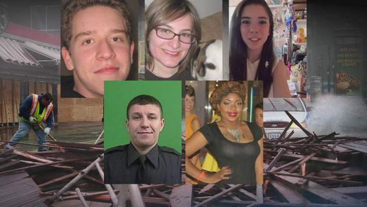 Some of the US victims of Hurricane Sandy