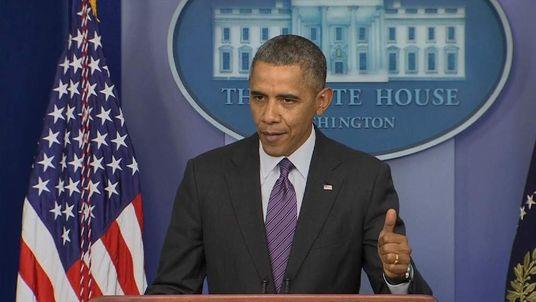 Obama White house presser