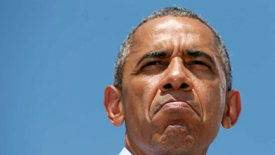 President Barack Obama in Wilmington, Delaware, on July 17, 2014