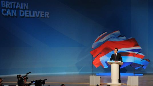 George Osborne Tory Party Conference
