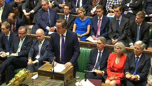 Parliament debates military action against IS