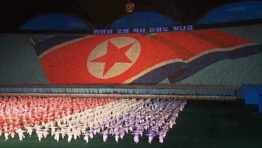 North Korea stadiu event