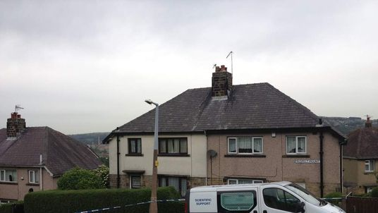 House in Shipley where elderly woman Louisa Denby found murdered
