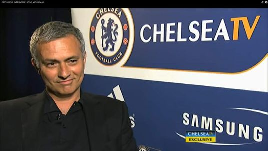New Chelsea manager Jose Mourinho (Pic: Chelsea TV)