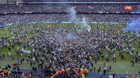 Manchester City Win Premier League Title