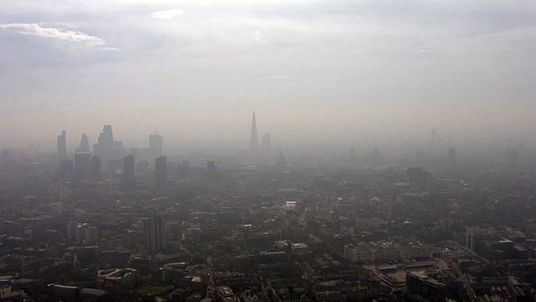 Air pollution in central London