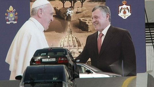 Pope to make whirlwind tour of Middle East