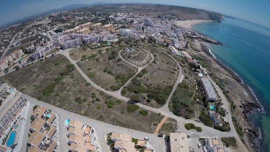 The Portuguese resort of Praia Da Luz.