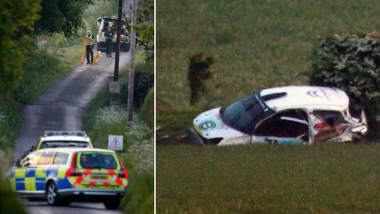 Four people were killed in a rally crash in Scotland