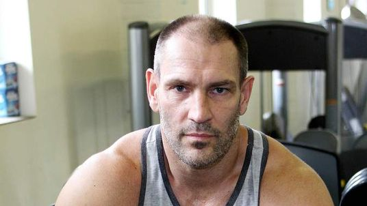 Dave Legeno, who had a part in Harry Potter, dies hiking in California. (Pic: Rex)