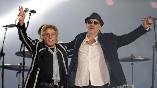 Pete Townshend And Roger Daltrey