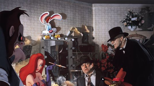 Bob Hoskins in Who Framed Roger Rabbit