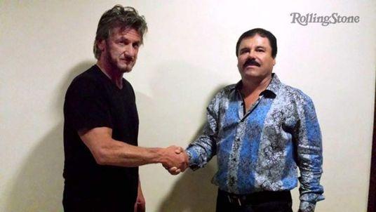 Sean Penn meets El Chapo. Pic: Rolling Stone