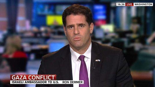 Israeli ambassador to UN, Ron Dermer