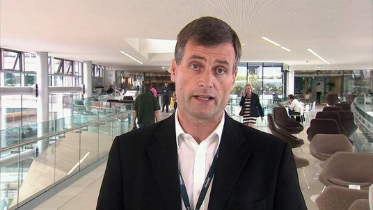 O2 UK CEO Ronan Dunne
